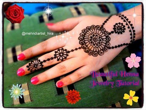 Beautiful Henna Mehndi Jewellery : Beautiful jewelry mehndi designs travelzozo