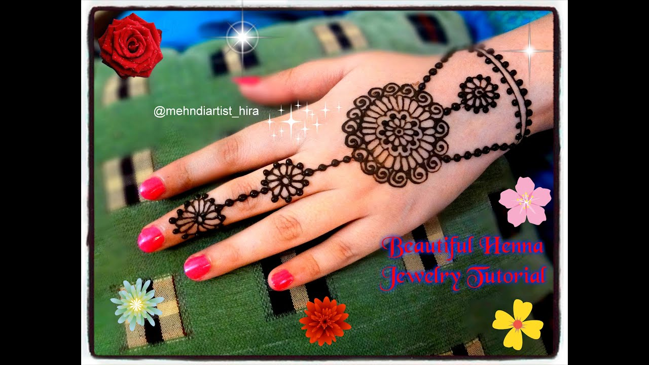 Mehndi Party List : How to apply easy simple beautiful henna mehndi designs for hands