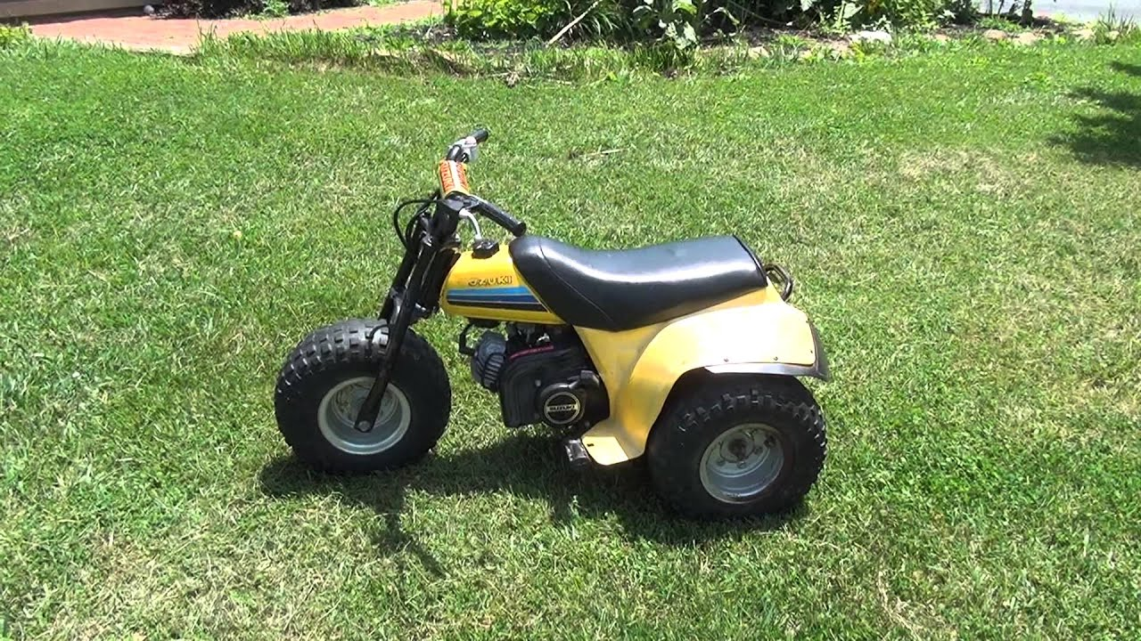 vintage retro 1974 alt50 3 wheeler dirt bike found at yard. Black Bedroom Furniture Sets. Home Design Ideas