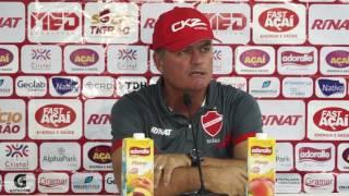 Coletiva com Técnico do Vila Nova - Jogo Vila Nova 0 x 0 Goianésia