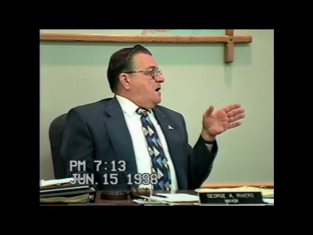 Rouses Point Village Board Meeting  6-15-98