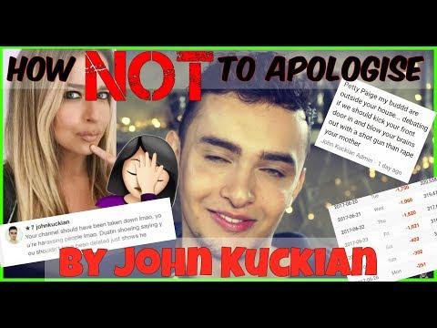How NOT to Apologise - By John Kuckian