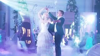 Поддержка первого танца жениха и невесты зеркалами. Мастерская шоу-программ DreamWay