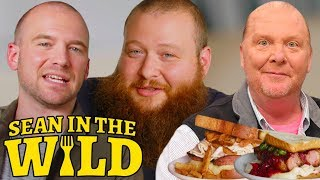 Action Bronson and Sean Evans Have a Sandwich Showdown Judged by Mario Batali  Sean in the Wild