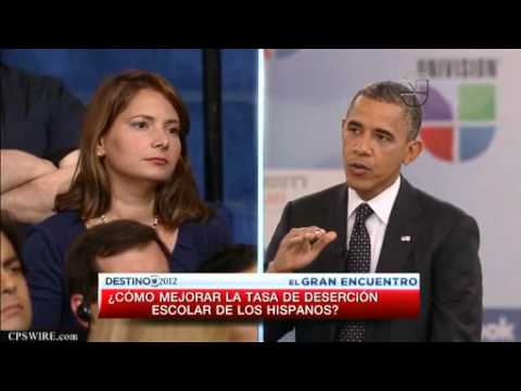 Meet the candidates with Barack Obama Full English Interview Univision Noticias