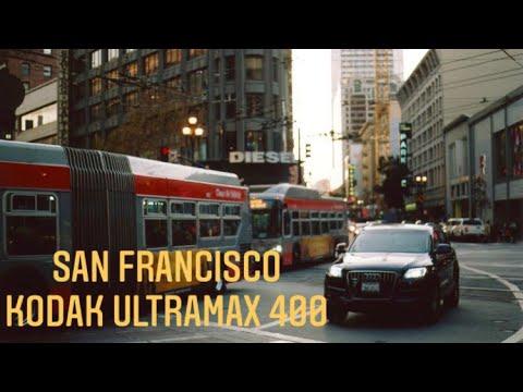 San Francisco Street Photography On Film    Minolta Maxxum 7000 & Kodak Ultramax 400
