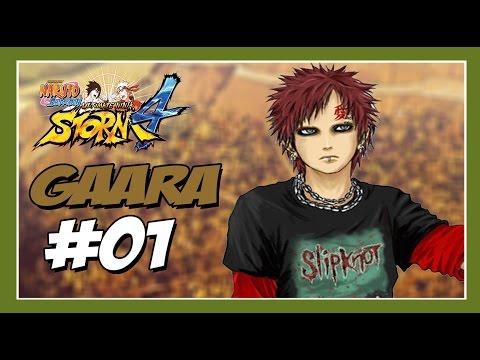 Naruto Ultimate Ninja Storm 4: Modo Aventura GAARA #1 - Nova Banda Emo no Pedaço!!