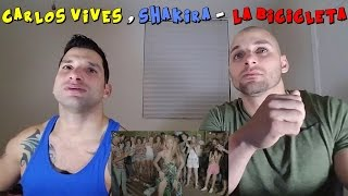 CARLOS VIVES, SHAKIRA - La Bicicleta [REACTION]