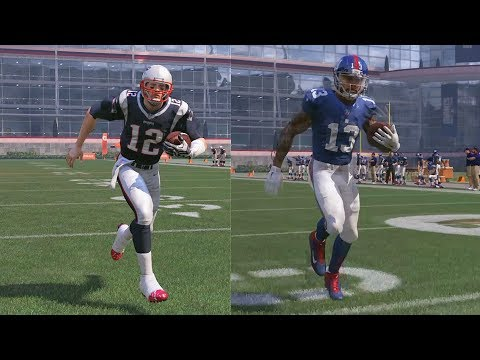 Who is the Fastest Player in the NFL? Tom Brady, Odell Beckham Jr, or Cam Newton! Madden 17 Gameplay