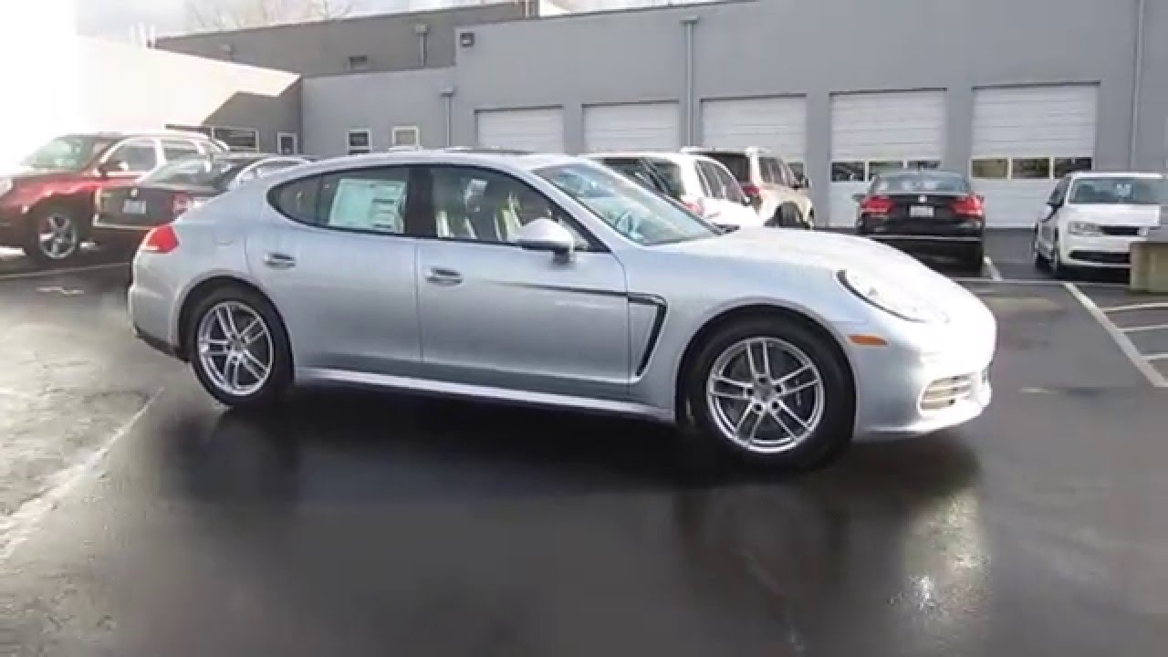 2016 Porsche Panamera Carrara White Metallic Stock 90049 Walk Around