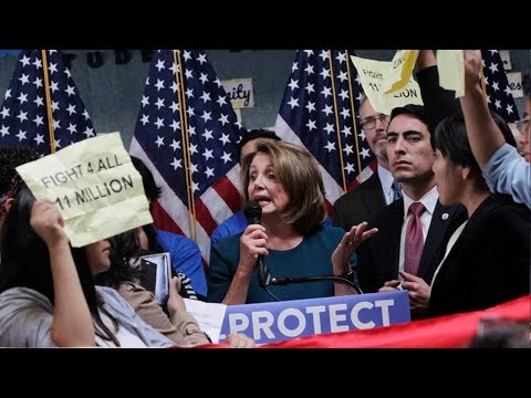Nancy Pelosi Interrupted By Pro-Amnesty Protesters At Pro-DACA Event in San Francisco (REACTION)