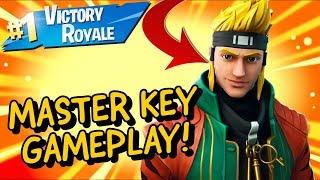MASTER KEY Skin Gameplay In Fortnite Battle Royale