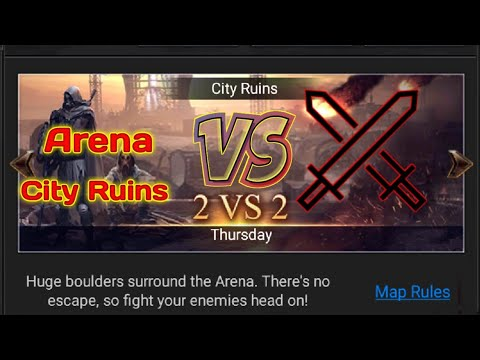 Last Empire War Z Arena Ctiy Ruins  2 VS 2