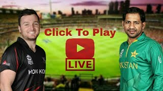 Pakistan Vs Hong Kong Live   Asia Cup 2018