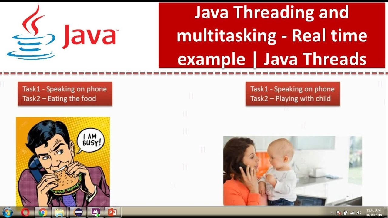 Java multithreading.