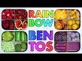 Rainbow Bento Snack Boxes! Colorful Vegan + Vegetarian Recipes Inspiration! - Mind Over Munch!