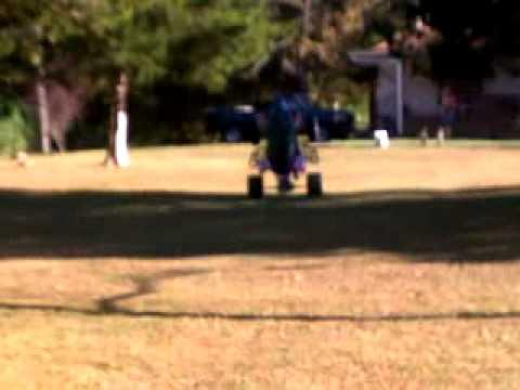 Ethan reaves reverse into a wheelie