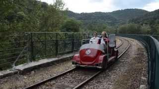 Le Velorail du Ardèche! [HD]