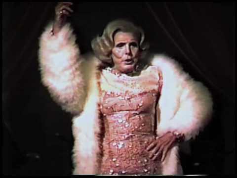 Billie Ann Miller: Marlene Dietrich (Here Come The Golden Girls Again) 1991