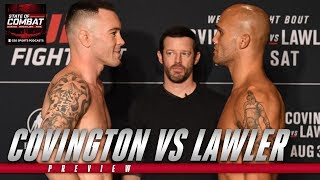 Colby Covington vs Robbie Lawler preview | UFC | State of Combat