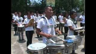 EXCLUSIVO: ENSAYOS Y MELODIAS BANDA EL SALVADOR 2013