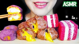 ASMR SWEET POTATO DESSERT CAKE…