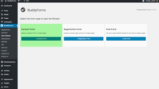 Create a Contact Form in 3 steps - use this WordPress plugin