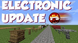 Mrcrayfish's Furniture Mod: Electronic Update Showcase!
