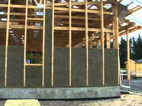 видео: Финны строят каркасный дом