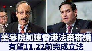 香港形勢危殆 美參院加速審議香港法案|新唐人亞太電視|20191115