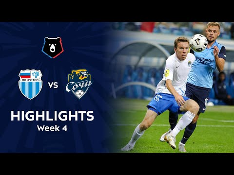 R. Volgograd Sochi Goals And Highlights