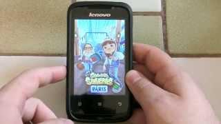 Lenovo A269i - Un Android 2.3 à ~38€ bourré d'autonomie !