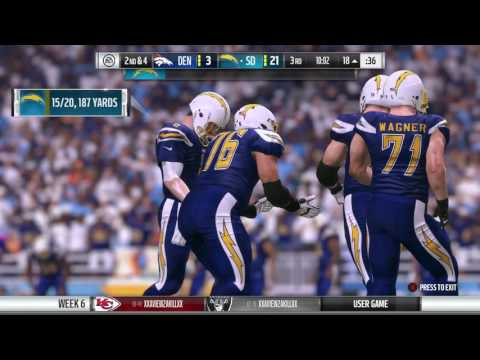 IGNFL 2016 Week Six Broncos Chargers
