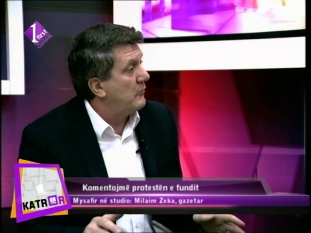 Katror - Intervista me Milaim Zeka,Gazetar 11.01.2016