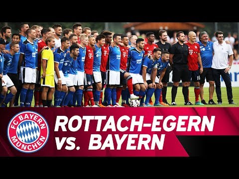FC Rottach-Egern vs. FC Bayern 2-20 | Full Game | Friendly Match