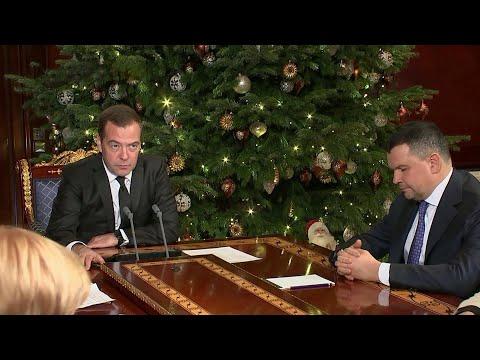 Дмитрий Медведев дал поручение проследить за выполнением решений по транзиту газа через Украину.
