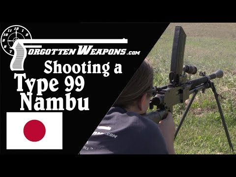 Shooting a Type 99 Nambu in 7.62mm NATO