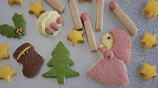 絵本クッキー♡マッチ売りの少女 Butter cookies(Andersen: The Little ...