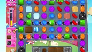 Candy Crush Saga Level 1689 with 5 moves left,  NO BOOSTERS!