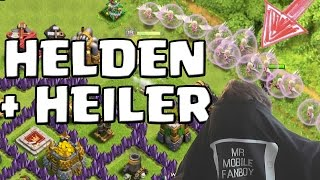 [facecam] HELDEN & HEILER! || CLASH OF CLANS || Let's Play CoC [Deutsch/German Android iOS HD]