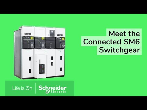 Meet the connected SM6 switchgear