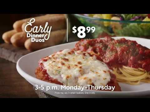 Early Dinner Duos at Olive Garden