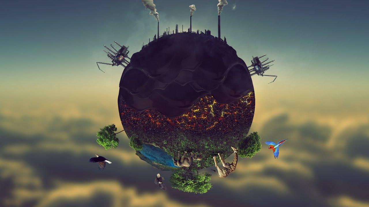 Earth Pollution Amazing Wallpaper Tutorial