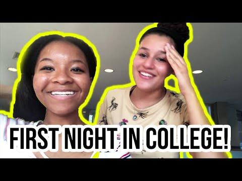 first-night-of-college!!- -freshman-year-(loyola-university-maryland)