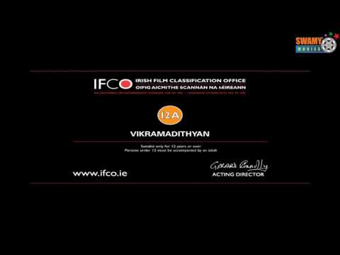 Vikramadithyan Malayalam Movie IFCO Certifcate - Swamy Movies