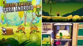 Mejores Copias de Juegos Famosos para Android *Cuphead, Getting Over It, Gang Beasts*