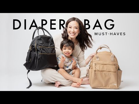 Diaper Bag Must-Haves: Toddler Edition | Susan Yara