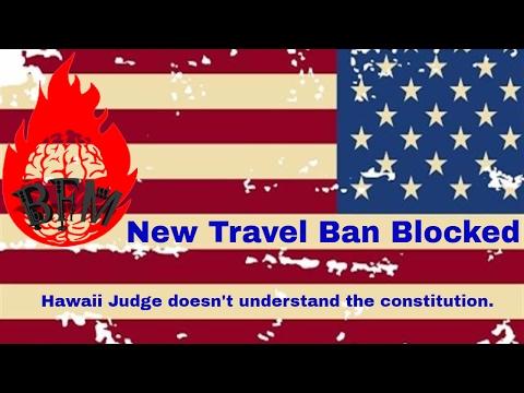 New Travel Ban Blocked
