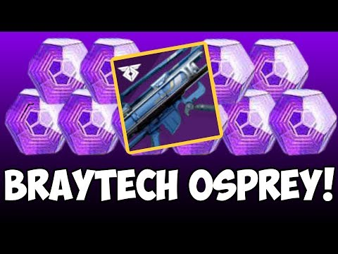 Destiny 2 | Last Chance for Braytech Osprey! Get Your Wayfarer Title! I'm Back :) thumbnail