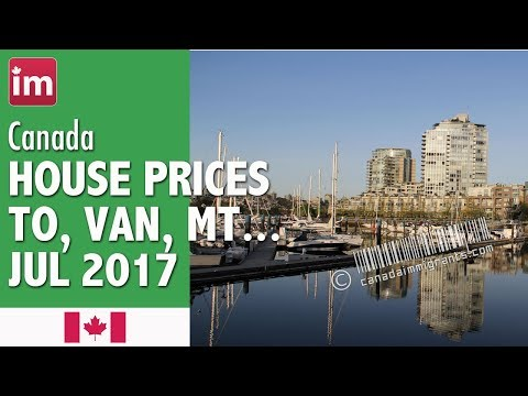 House Prices in Canada (July 2017) | Cost of Living in Canada